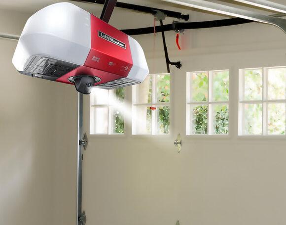 garage door opener with camera 85503