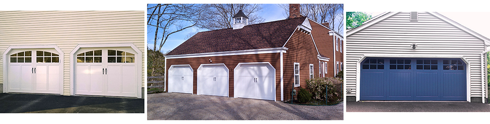 Designs for Colonial Cut Garages