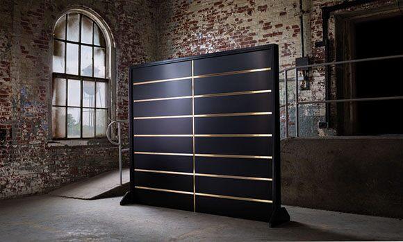 Custom-Garage-Door-With-Brass-Details
