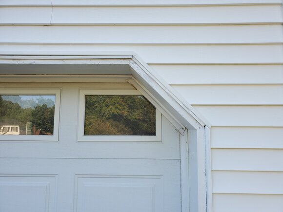 Colonial Cut over Window
