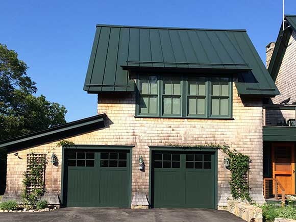Evergreen Vinyl Garage Doors