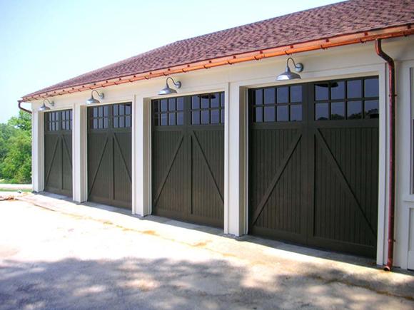 Black Vinyl Garage Doors