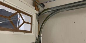 Garage Door Track for Low Ceilings
